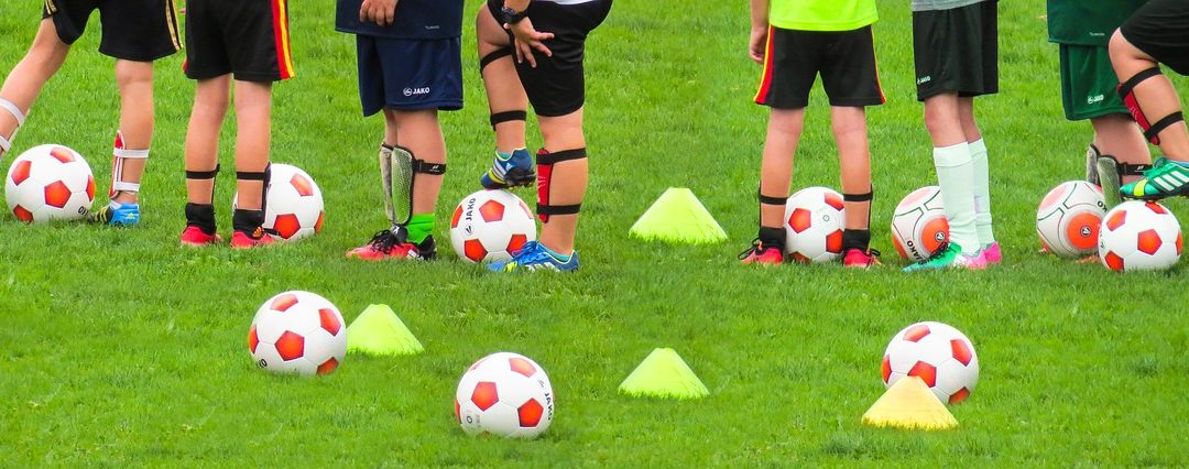 Foto Trainingsaufbau im Fußball für Kinder
