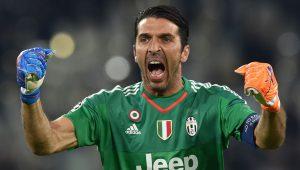 Bild des Welttorhüters 2017 Gianluigi Buffon von Juventus Turin