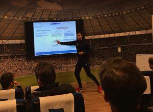 Torwarttrainertag bei Hertha theoretischer Teil