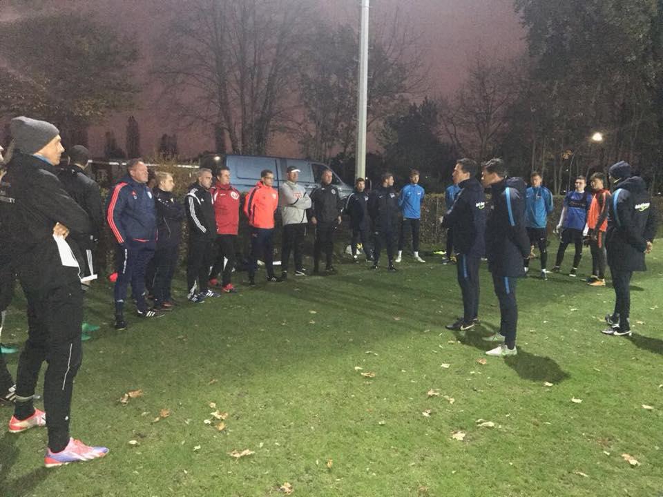 Bild Torwarttrainertag bei Hertha praktischer Teil