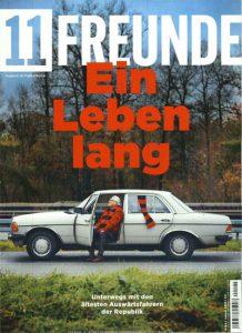"""Titelseite der Zeitschrift """"11 Freunde"""""""