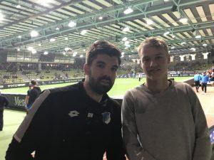 Bild Dominik Weber, Torwartrainer der U19 der TSG 1899 Hoffenheim und TorspielerTheo