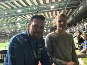 Bild Ilja Hofstädt, Torwartkoordinator der Hertha BFC und TorspielerTheo