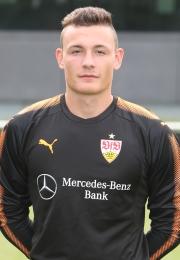 Bild Jerome Weisheit, Tor U19 des VfB Stuttgart