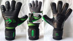 Bild Torwarthandschuh Stealth All Black schwarz-neon grün