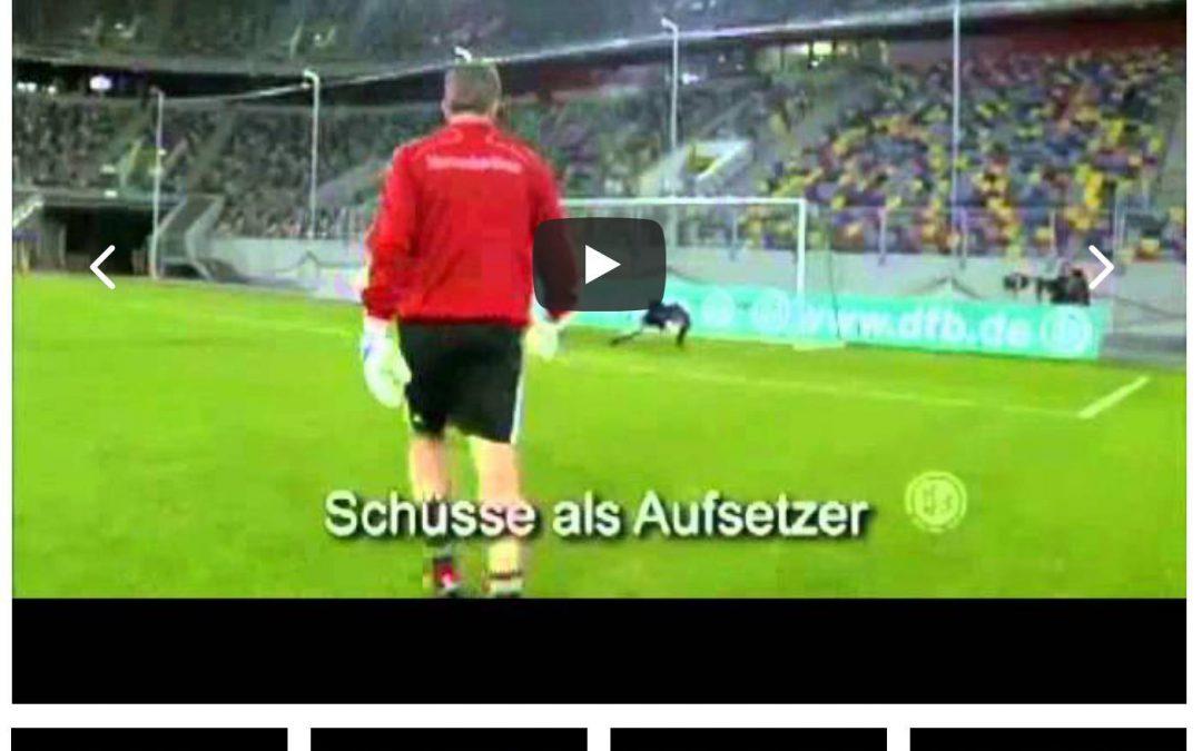 DFB Torwarttraining von Andy Köpke: Trainieren wie die Nummer 1