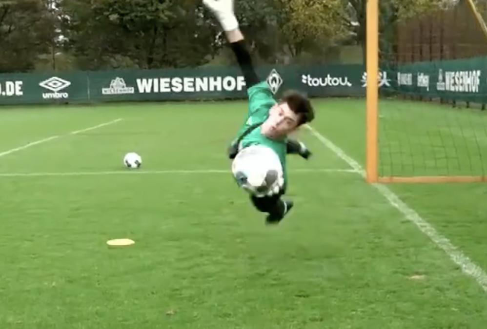 Torwarttraining bei Werder Bremen