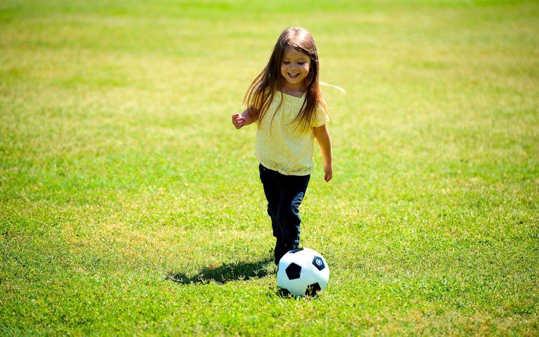 Spaß am Fußball ist enorm wichtig.